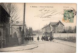 ANTONY  -  Avenue Des Deux Gares - Antony