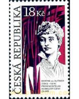 Ref. 299902 * MNH * - CZECH REPUBLIC. 2013. COUNTESS BERTA VON SUTNER - NOBEL PEACE PRIZE 1905 . CONDESA BERTA VON SUTN - Unused Stamps