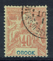 "Obock, 40c., Type ""Groupe"", 1892, Obl, TB - Oblitérés"