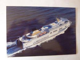 LA MERIDIONALE - GIROLATA - Compagnie Méridionale De Navigation - AJACCIO BASTIA MARSEILLE - Piroscafi