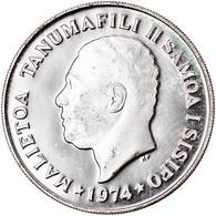 Monnaie, Samoa, 20 Sene, 1974, FDC, Argent, KM:16a - Samoa