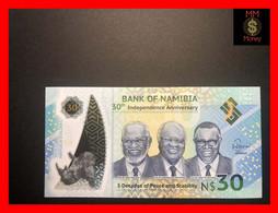 NAMIBIA 30 $  2020  P. New  *commemorative*   Polymer  UNC - Namibia