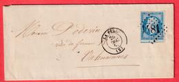 N°14 GC 1481 LA FERE AISNE TTB / SUP VALENCIENNES - 1849-1876: Classic Period