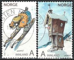 Norwegen Norway 2013. Mi.Nr. 1833-1834, Used O - Usati