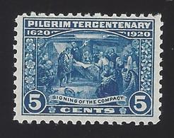 US #550 1920 Deep Blue Unwmk Perf 11 MNH F-VF Scv $85 - Unused Stamps