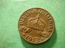 DOA German East Africa  1 Heller 1913 - Otros – Africa
