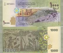Syria - 1000 Pounds 2013 2015 UNC Pick 116 Lemberg-Zp - Syrië