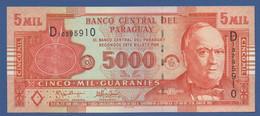PARAGUAY - P.223a  – 5.000  GUARANIES 2005 - UNC Prefix D - Paraguay