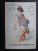 CHROMO CIGARETTE (V2102) Cie LE GLOBE - HENRI KISS - BRUXELLES (2 Vues) Cigarettes & Tabacs Turcs D - Sigarette (marche)