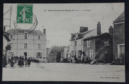 Saint Laurent Du Mottay - La Place - Autres Communes