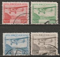 Japan 1929 Sc C4-7  Air Post Partial Set Used - Airmail