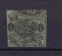Braunschweig - 1863 - Michel Nr. 10 A - Gestempelt - 500 Euro - Brunswick