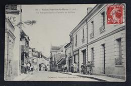 Saint  Martin Le Beau - La Rue Principale - Autres Communes