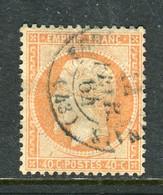 Superbe N° 23 Oblitéré Cachet à Date ( 1864 ) - 1862 Napoleone III