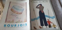 JARDIN DES MODES 32/SCHIAPARELLI /BABAR/LELONG ROUFF COSTA PERUGIA SKI MODE CHATILLON MOULY ROUSSEL - 1900 - 1949