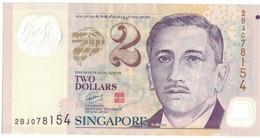 Billet, Singapour, 2 Dollars, Undated (1999), KM:38, SPL - Singapore