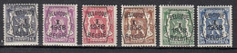 PRE333/338 X Scharnier Cote 36,00 - Typo Precancels 1936-51 (Small Seal Of The State)