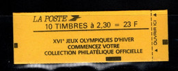 France Carnet 2614 C9 Marianne De Briat Fermé - Usados Corriente