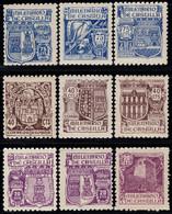 1944.MNH.Ed:**974/982.Milenario Castilla.Serie Completa - 1931-50 Gebraucht
