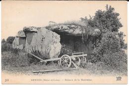 Cpa Gennes - Dolmen De La Madeleine . - Sonstige Gemeinden