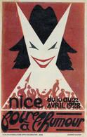 H1803 - NICE - FOIRE à L'HUMOUR - 10 Au 22 AVRIL 1928 - Advertising