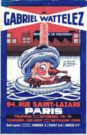 H1803 - GABRIEL WATTELEZ - PARIS - DECHETS De CAOUTCHOUC - Advertising