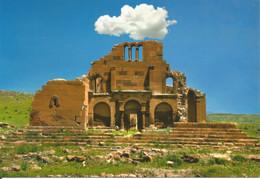 (ARMENIA) THE EREROUK BASILICA, SHIRAK PROVINCE - New Postcard - Armenia
