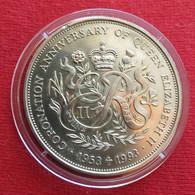 Guernsey 2 Pound 1993 Coronation - Guernsey