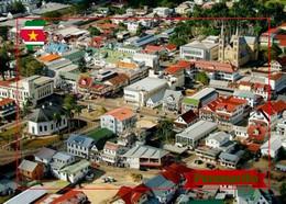 Suriname Paramaribo Overview Cathedral New Postcard - Surinam
