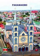 Suriname Paramaribo Cathedral UNESCO New Postcard - Surinam
