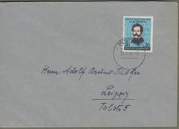 """Bund: Brief Mit Mi.-Nr. 155 ST: """" Carl Schurz """"     X - Storia Postale"""