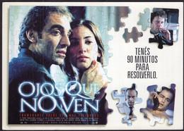 Argentina - 2000 - Carte Postale - Film - Ojos Que No Ven - A1RR2 - Manifesti Su Carta