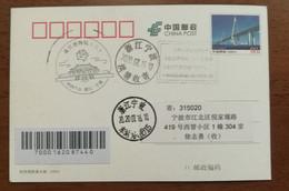 Under Influence Of Novel Coronavirus Pneumonia COVID-19 Pandemic,CN 20 Ningbo Post New Stamps Issue Rescheduling PMK - Malattie