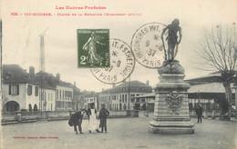 "/  CPA FRANCE 65 ""Vic Bigorre, Statue De La Revanche"" - Vic Sur Bigorre"
