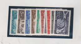 YUGOSLAVIA,1954 TRIESTE B Airmail  Set MNH - Unused Stamps