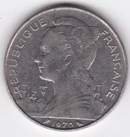 ILE DE LA REUNION. 100 FRANCS 1970 - Reunion