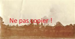 PHOTO FRANCAISE - BOMBARDEMENT DE CAËSTRE PRES DE HAZEBROUCK - BAILLEUL NORD - GUERRE 1914 1918 - 1914-18