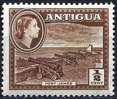 Antigua 1956 - Mi 101 - YT 103A ( Fort James ) MH* - 1858-1960 Kolonie Van De Kroon