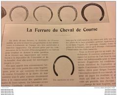 1905 LA FERRURE DU CHEVAL DE COURSE - ÉLEVAGE À SAINT PARIZE LE CHÀTEL ( NIÈVRE ) - YACHTING ET MARINE - KIEL - Magazines - Before 1900