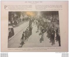 1909 CYCLISME LE TOUR DE FRANCE - FANCOIS FABER - GARRIGOU - SAUMUR HORSE SHOW Suite - LUCERNE CONCOURS HIPPIQUE - Unclassified