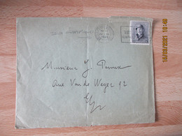 1920 Jeux Olympiques Olympics Games Obliteration Lettre  Bruxelles - Summer 1920: Antwerp