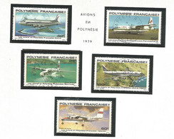 148/152  Les Avions En Polynésie  (clasbleupoly)) - Gebruikt