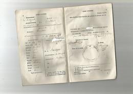 ARRONDISSEMENT DE CONFOLENS , COMMUNE DE BRILLAC , LIVRET D OUVRIER DE 1870 DELIVRE EN 1871 - Non Classificati