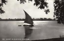 Sudan Khartoum Sunset On Blue Nile - Sudan