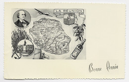LA REUNION CARTE BONNE ANNEE - Sin Clasificación
