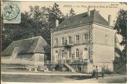 3010-71  - LOISY  -La Place, Mairie Et école De Garçons - Andere Gemeenten