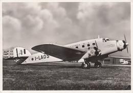 CPA - Savoia Marchetti S 73 - Compagnie Ala Littoria - Aéroport Del Littorio Rome - 1919-1938: Fra Le Due Guerre