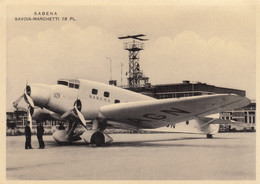 CPA - Savoia Marchetti S 73 - Compagnie S.A.B.E.N.A. - - 1919-1938: Fra Le Due Guerre