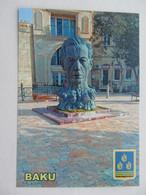 Azerbaijan. Baku Monument To The Poet Aliagha Vahid - Azerbaïjan