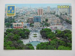 Azerbaijan. Baku From Height Of The Bird's Flight - Azerbaïjan